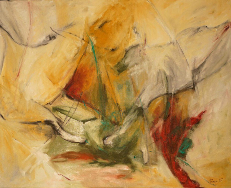 expressive mind, 100x80, Öl auf Leinwand, 980 €