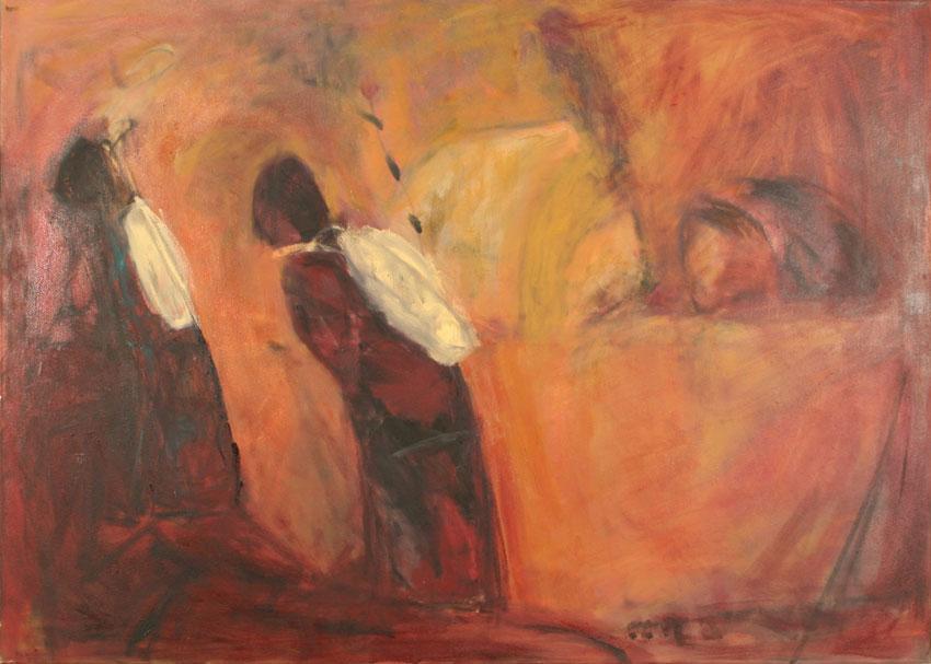 marrakesch 140x100, Öl, 1750 €