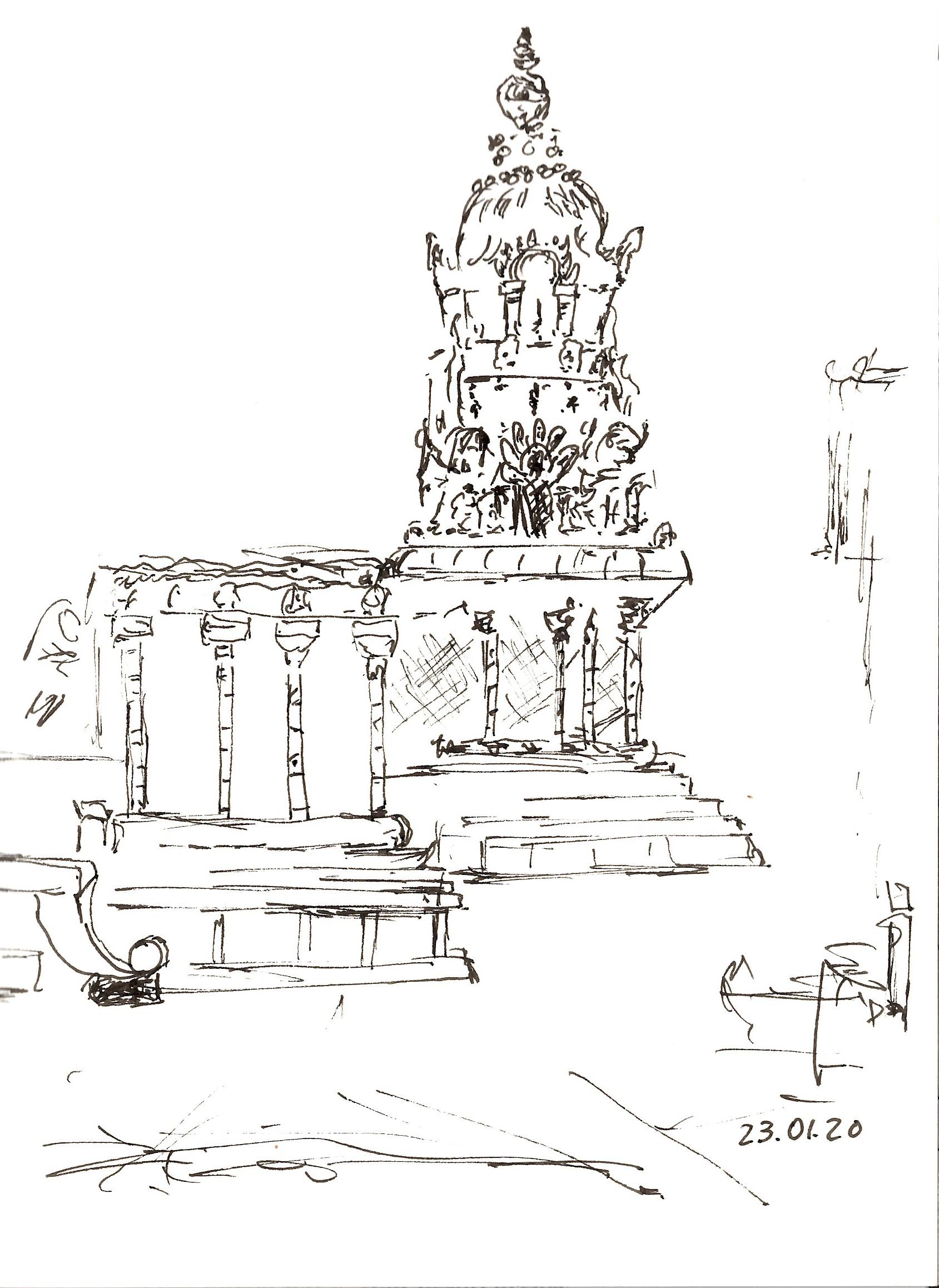 Indien, 2020 Airavateshwara Tempel